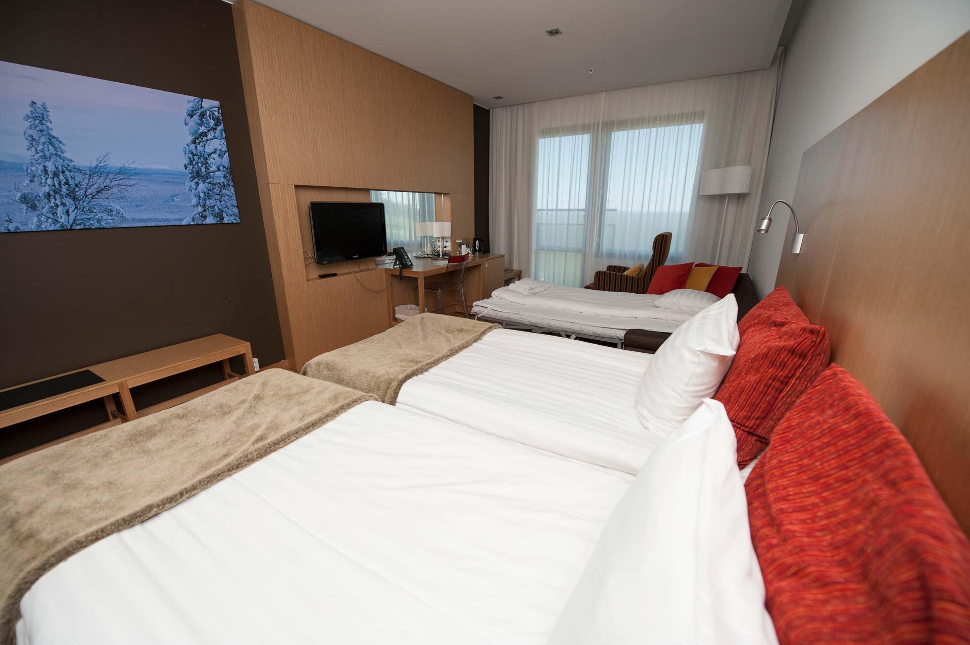 Hotel Levi Panoraman Standard-huone.