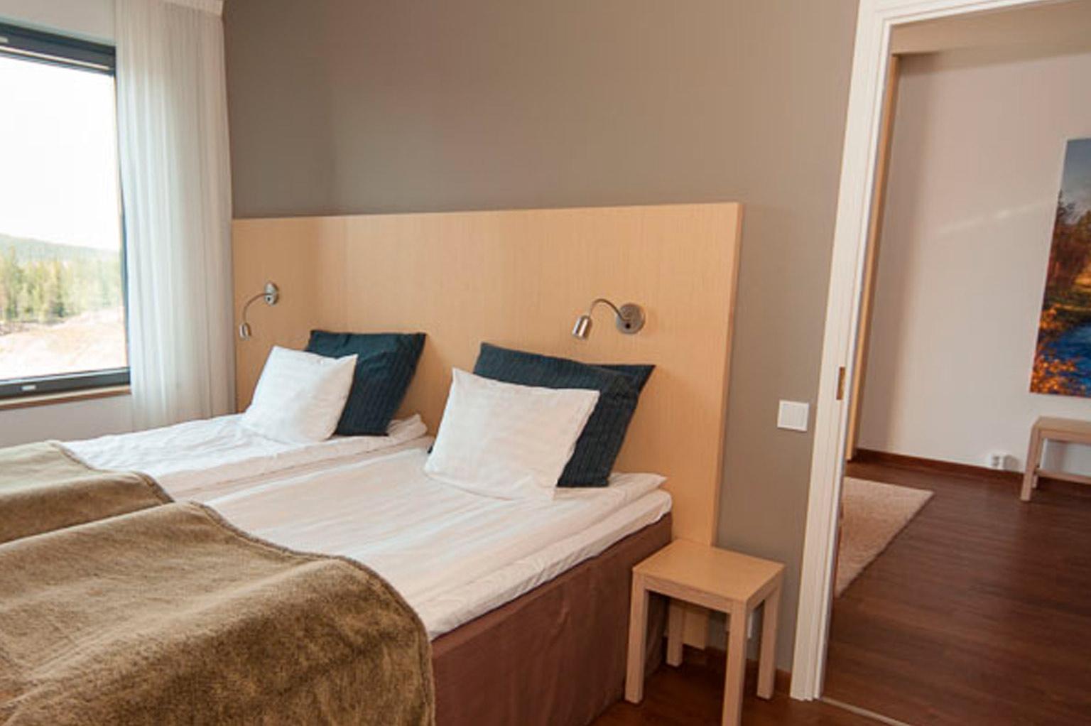 deluxe-sviitti yhdellä makuuhuoneella, Hotel Levi Panorama, Levi.