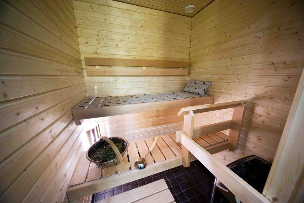 Levi Chalets huoneiston sauna