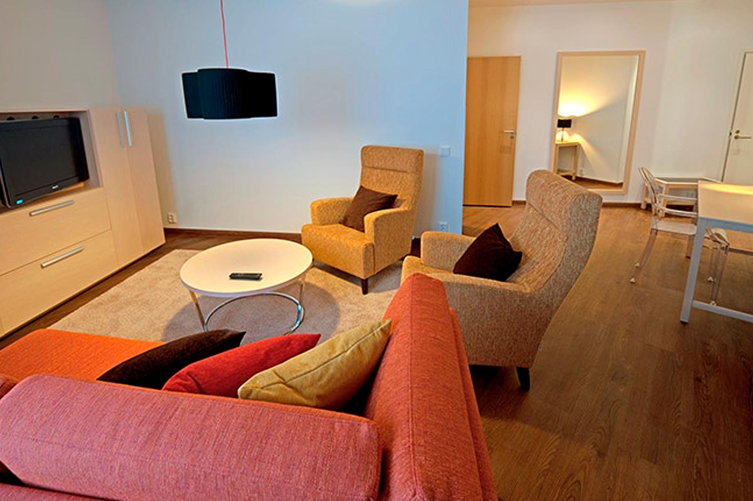 Deluxe-sviitti kahdella makuuhuoneella, Hotel Levi Panorama, Levi.