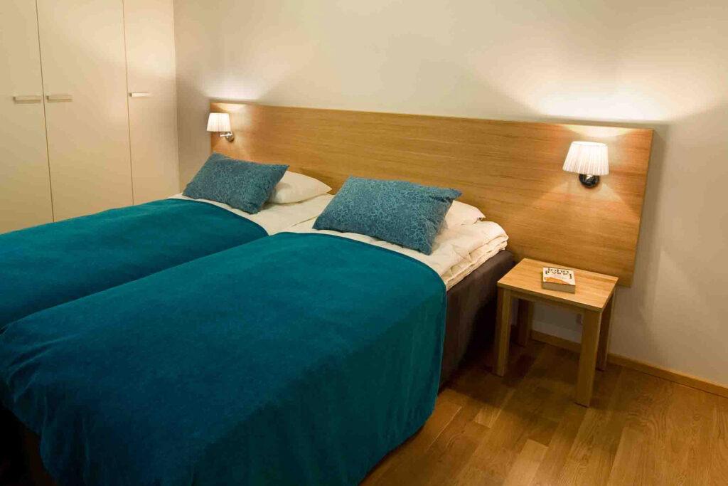 Levi Chalets huoneiston makuuhuone