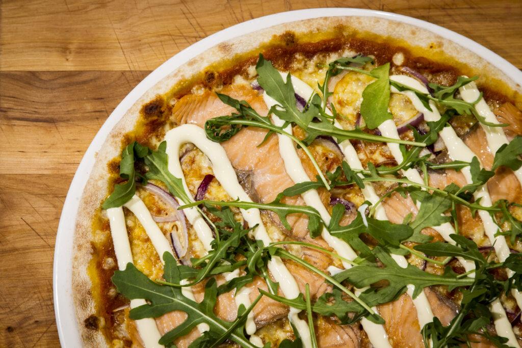 Ravintola Panoraman pizza