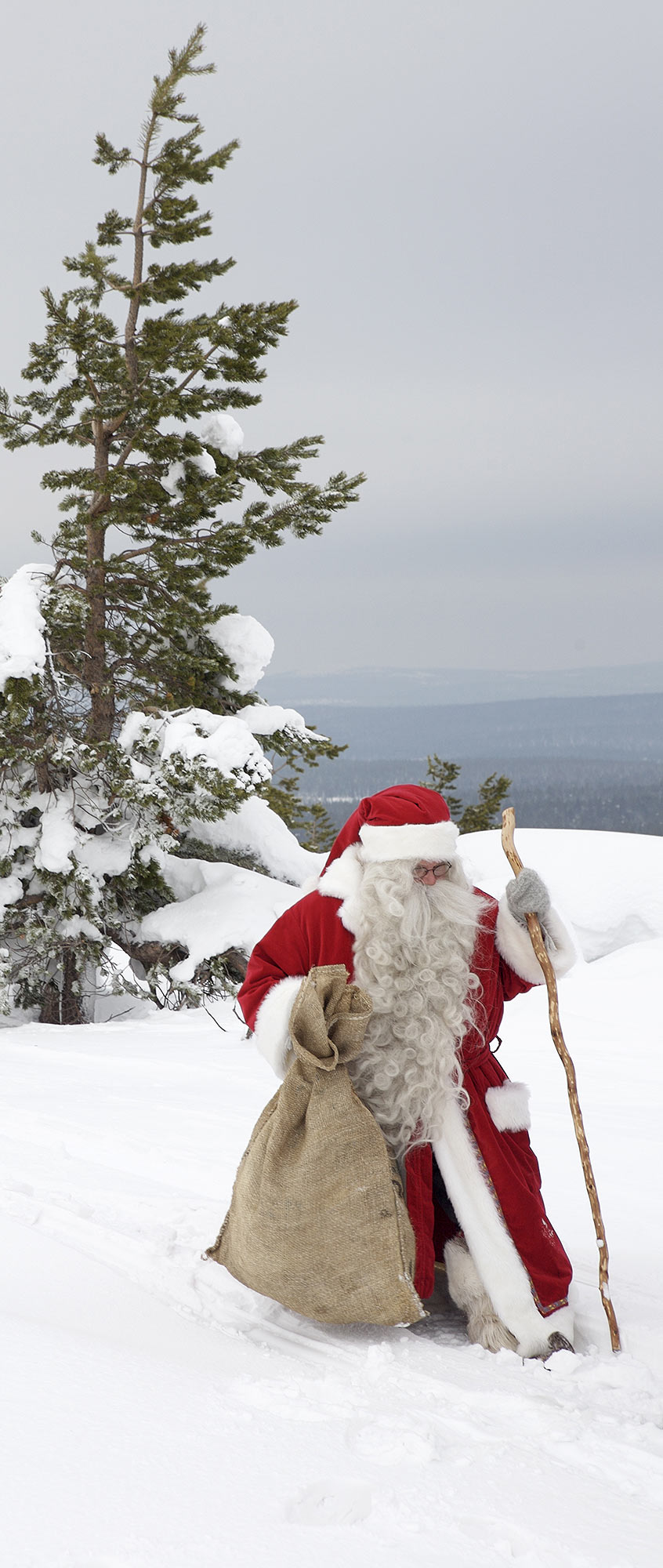 Santa Clause in Levi, Finland.