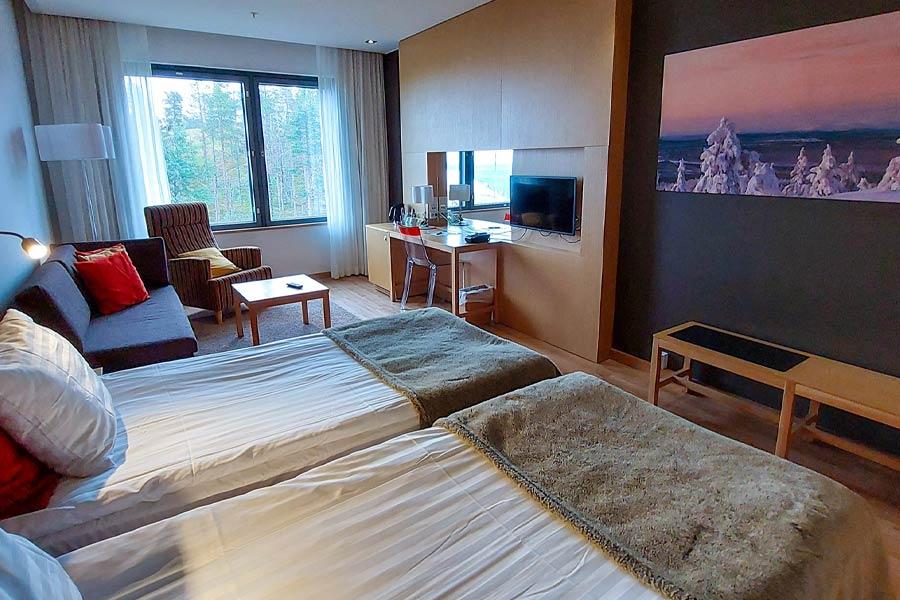 Hotel Levi Panoraman tarjous: oma huone lapsille.